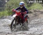 tyler in the mud
